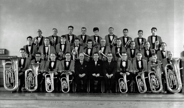 Besses Band with Frank Bryce 1962
