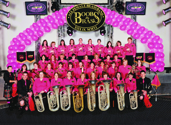 Boobs and Brass Butlins 2010