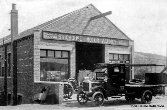 Brighouse Motor Agency Bailiffe Bridge my collection