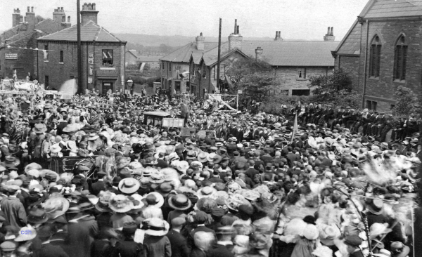 A Big Day Out at Hipperholme in 1911