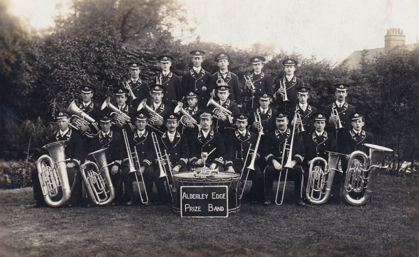 Alderley Edge Prize Band - do you remember this band?