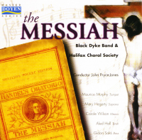 The Messiah - Black Dyke and the Halifax Choral Society - 2001 - Double CD - £5 + £1.50 p/p