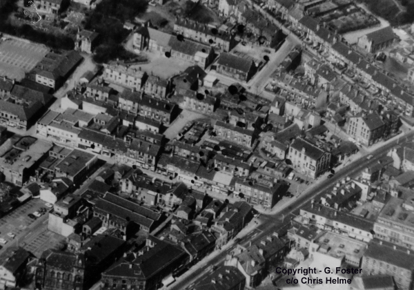 Brighouse Town Centre before the Bypass - pre 1972