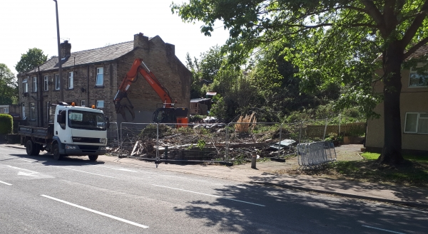 More local history is demolished!