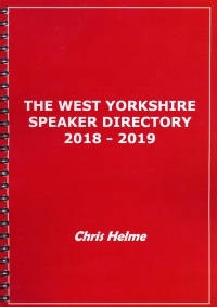 West Yorkshire Speaker Directory 2018 - 2019