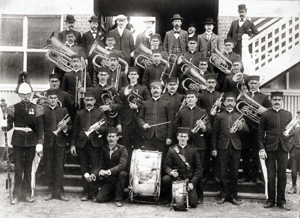 The Geelong Town Band Australia and James Ord Hume - 1900