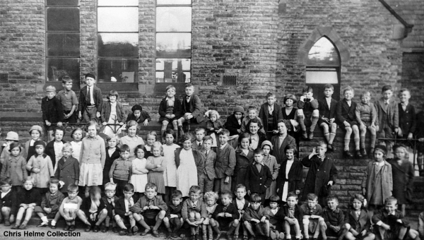 ST CHAD'S SCHOOL CHILDREN - 1937