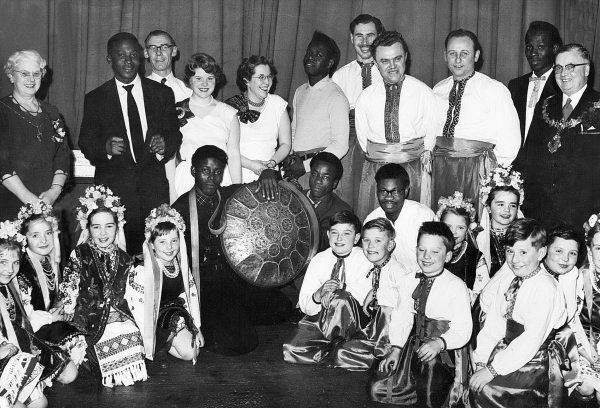 Brighouse Country Dance Club  with Guests from the Brighouse UNA  Branch - 1957