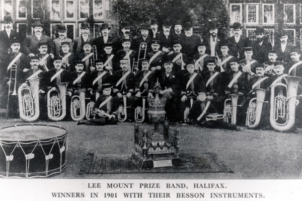 LEE MOUNT BAND - HALIFAX WEST YORKSHIRE
