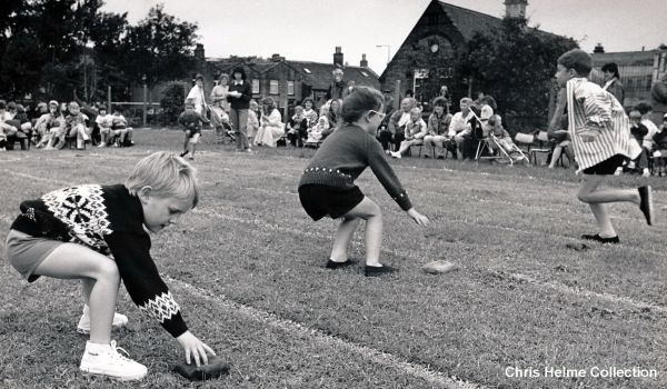 Hipperholme Infants School Sports Day - June 1990